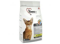 Сухой корм для взрослых котов 1st Choice Adult гипоаллергенный со вкусом утки и картошки 2.72 кг