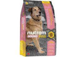 Сухой корм Nutram S6 Sound Balanced Wellness Adult Dog для взрослых собак средних пород 13.6 кг