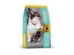 Сухой корм Nutram I17 Ideal Solution Support Indoor Cat для взрослых котов со вкусом курицы  1.8 кг