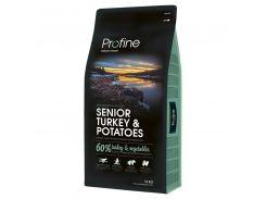 Сухой корм для собак пожилого возраста Profine Senior Turkey с индейкой и картофелем  15 кг