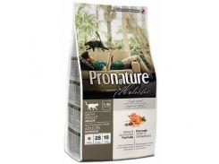 Сухой корм для взрослых котов Pronature Holistic Adult со вкусом индейки и клюквы 2,72 кг