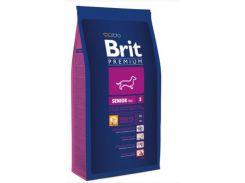 Сухой корм для пожилых собак  Brit Premium DOG Senior S 8 кг
