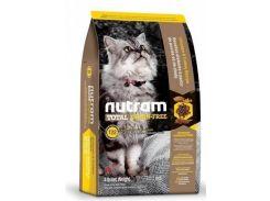 Сухой корм Nutram T22 Turkey & Chiken Cat для взрослых котов со вкусом курицы и индейки  6.8 кг