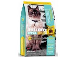 Сухой корм Nutram I19 Ideal Solution Support Skin для взрослых котов со вкусом курицы и лосося  6.8 кг