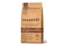 Сухой корм для собак Grandorf Duck & Potato All Breeds утка  12 кг