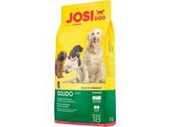 Сухой корм для щенков JosiDog Solido Adult с мясом домашней птицы  18 кг