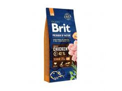 Сухой корм для пожилых собак мелких и срелних пород Brit Premium DOG Senior S/M 15 кг