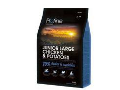 Сухой корм для щенков и молодых собак крупных пород Profine Junior Large Chicken с курицей и картофелем  3 кг