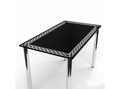 Стол БЦ-стол Плетеная рамка (650 x 1100 x 750)