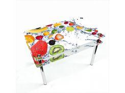 Стол БЦ-стол Прямоугольный с проходящей полкой Fruit Shake (610 x 910 x 750)