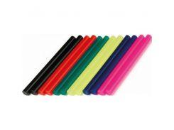 Комплект цветных клеевых стержней 7.4мм 200мм INTERTOOL RT-1032