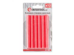 Комплект красных клеевых стержней 11.2мм*100мм INTERTOOL RT-1041