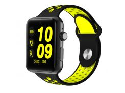 Smart Watch Lemfo LF07 Plus Black-Yellow