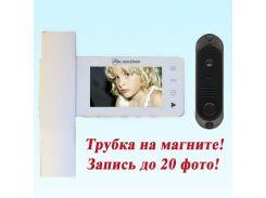 Видеодомофон + вызывная панель PC-446R0 + (PC-201)