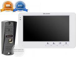 Видеодомофон + вызывная панель PC-705R +HD (PC-201)