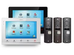 Комплект видеодомофона ARNY AVD-710M Black NEW + AVP-05