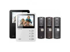 Комплект видеодомофона ARNY AVD-410 Black + AVP-05 Black