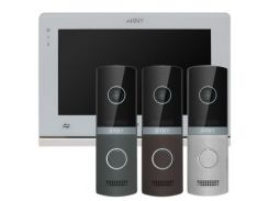 Комплект видеодомофона ARNY AVD-710M Black NEW + AVP-NG110