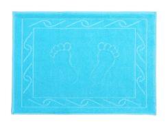 Полотенце д / ног Hayal 50 * 70 голубой аква 700г / м2