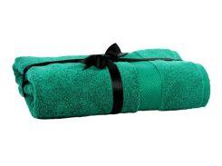 Набор полотенце EURO SET Dark Green зеленый 70 * 135 1шт. 500г / м2