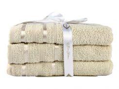 Набор полотенце NISA бежевый 100 * 150 1шт.