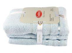 Набор полотенец NISA голубой 50x90 + 70x140