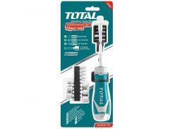 Набор отверток с храповым механизмом TOTAL TACSD30156 15шт.