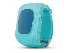 Детские часы с GPS трекером ERGO GPS Tracker Kid`s K010 Blue