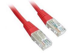 """Патч-корд UTP Cablexpert (PP12-3M/R) литой, 50u """"штекер с защелкой, 3 м, красный"""