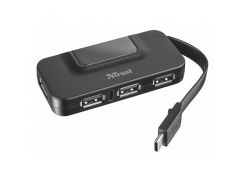Концентратор Trust Oila USB-C 4P USB2.0 hub