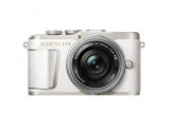 Цифровая камера Olympus E-PL9 14-42 mm Pancake Zoom Kit White/Silver
