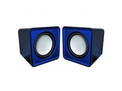 Аккустика Omega 2.0 OG-01 SURVEYOR 6W Blue USB