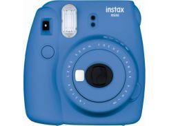 Камера моментальной печати FUJI Instax Mini 9 CAMERA COB BLUE EX D N Синий Кобальт
