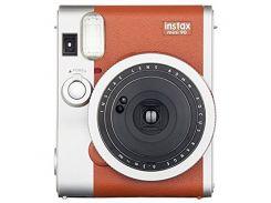 Камера моментальной печати Fuji Instax Mini 90 Instant camera Brown EX D