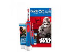 Зубная электрощетка Braun Oral-B ProExpert Stages StarWars (D12.513K/Type3757/91132915) + Berry Bubble 75 ml