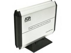"Внешний карман USB3.0 для HDD SATA 3,5"" AgeStar 3UB3A5 (Silver)"