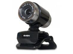 Веб-камера SVEN IC-720 Black с микрофоном