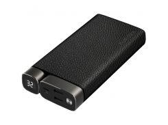 Портативное зарядное устройство Puridea X02 20000mAh Li-Pol +TYPE-C Leather Black