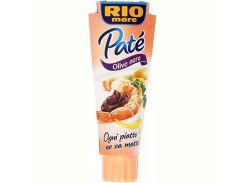 Паштет Rio mare Pate Olive Nere, 100 г (Италия)