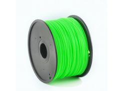Филамент пластик Gembird (3DP-ABS1.75-01-LG) для 3D-принтера, ABS, 1.75 мм, светящийся зеленый, 1кг