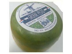 Сыр Berkhout Groene Pesto Cheese V2, 528 г (Голландия)