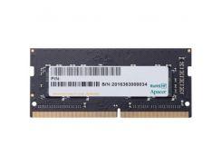 ОЗУ APACER для ноутбука DDR4 4Gb 2400Mhz БЛИСТЕР ES.04G2T.KFH