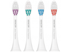 Зубная электрощетка SENCOR SOX 001 (белый) насадки к зубным щеткам