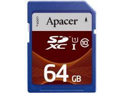 Карта памяти APACER SDXC 64GB Class 10 UHS-I