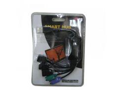 Концентратор USB2.0 Atcom TD010 Black (10719) 3хUSB2.0