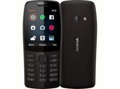 Мобильный телефон Nokia 210 Dual Sim Black