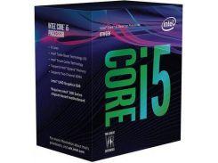 Процессор INTEL Core i5-8600K s1151 3.6GHz 9MB GPU 1150MHz BOX