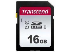 Карта памяти TRANSCEND SDHC 300S 16GB UHS-I U1