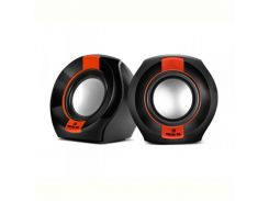 Акустическая система REAL-EL S-50 Black/Red