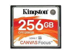 Карта памяти KINGSTON Compact Flash Canvas Focus 256 GB (150R/130W)